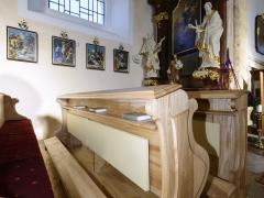 Kostel Letiny 2019